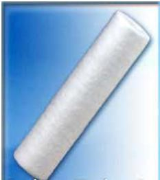Pentek-10 High-Efficiency Polypropylene -0.2 MIC. PLEATED POLYPROPYLENE DOE